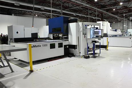 Станок для вырубки и лазерной резки TruMatic 1000